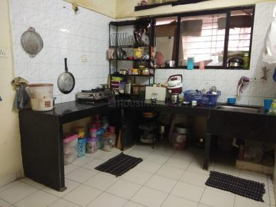 Kitchen Image of 1100 Sq.ft 2 BHK Apartment for rent in Wonder Bharati Vihar, Dhankawadi for 16000