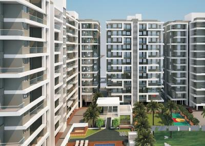 Gallery Cover Image of 1409 Sq.ft 3 BHK Apartment for buy in Wakad for 8925000
