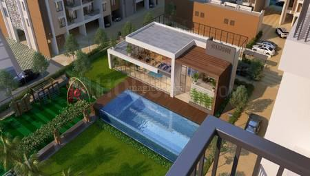 Balcony Image of 1000 Sq.ft 2 BHK Apartment for buy in W 57, Wakad for 6800000