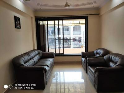 Gallery Cover Image of 1050 Sq.ft 1 BHK Apartment for rent in Airoli for 32000