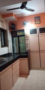 Gallery Cover Image of 580 Sq.ft 1 BHK Apartment for rent in Kartik Residency , Thane West for 14500