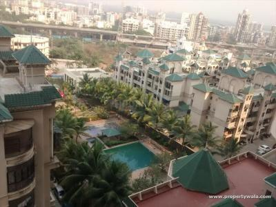 Gallery Cover Image of 1195 Sq.ft 2 BHK Apartment for rent in Adhiraj Cypress, Kharghar for 30000