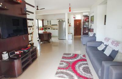 Gallery Cover Image of 1050 Sq.ft 3 BHK Apartment for rent in Hebbal Kempapura for 47124