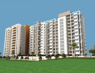 Gallery Cover Image of 971 Sq.ft 2 BHK Apartment for buy in Dhanori for 4190000