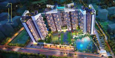 Gallery Cover Image of 1001 Sq.ft 3 BHK Apartment for buy in Merlin The One, Sarada Pally for 7807800