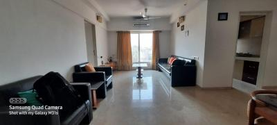 Gallery Cover Image of 1250 Sq.ft 3 BHK Apartment for rent in Kanakia Paris, Bandra East for 125000