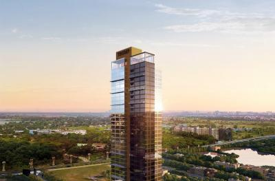 Gallery Cover Image of 2452 Sq.ft 3 BHK Apartment for buy in Trump Tower, Topsia for 36800000