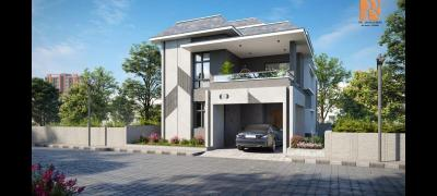 Gallery Cover Image of 2732 Sq.ft 3 BHK Villa for buy in Pocharam for 13660000