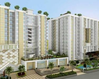Gallery Cover Image of 1105 Sq.ft 3 BHK Apartment for buy in Anukampa Sky Lounges, Sanganer for 4700000