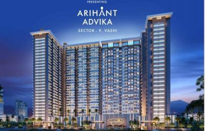Gallery Cover Image of 1090 Sq.ft 2 BHK Apartment for buy in Arihant Advika, Vashi for 18000000