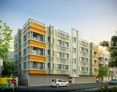Gallery Cover Image of 970 Sq.ft 3 BHK Apartment for buy in Uttarpara for 2330000