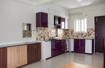 Kitchen Image of 3 Bhk In Dsr Sunrise Towers in Chansandra