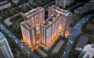 Gallery Cover Image of 900 Sq.ft 3 BHK Apartment for buy in Platinum Life, Andheri West for 33700000