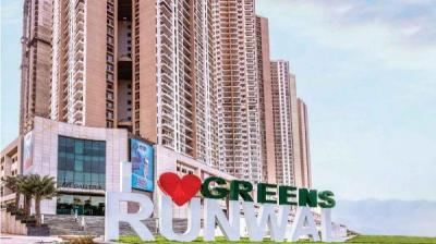 Gallery Cover Image of 910 Sq.ft 2 BHK Apartment for buy in Runwal Greens, Bhandup West for 18000000