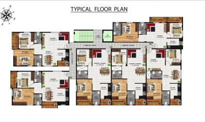 Gallery Cover Image of 1235 Sq.ft 2 BHK Apartment for buy in Kalyan Nagar for 7500000