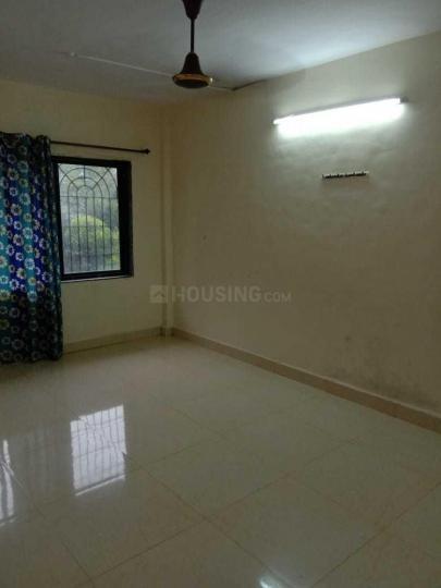 Living Room Image of 600 Sq.ft 1 BHK Apartment for rent in Kopar Khairane for 16000