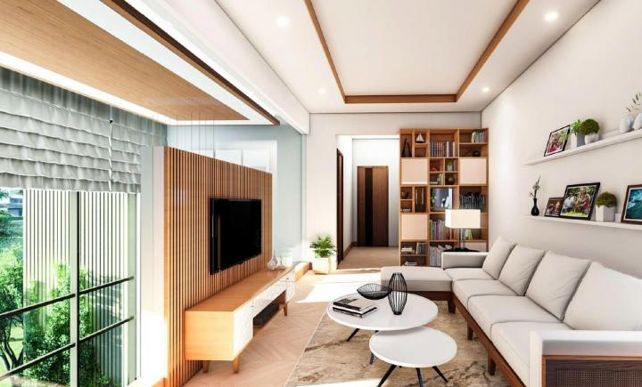 Hall Image of 516 Sq.ft 1 BHK Apartment for buy in Rivali Park WinterGreen, Borivali East for 12100000