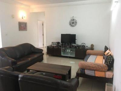 Gallery Cover Image of 1825 Sq.ft 3 BHK Apartment for rent in Godrej Woodsman Estate, Hebbal Kempapura for 45000