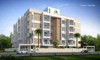 Gallery Cover Image of 1288 Sq.ft 2 BHK Apartment for buy in Foundations Silicon, Mysuru for 4508000