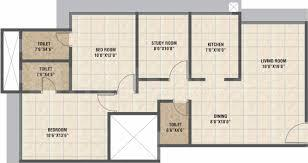 Gallery Cover Image of 1200 Sq.ft 2 BHK Apartment for buy in Teenmurty Summit, Borivali East for 18500000