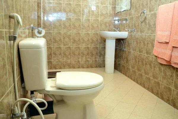 Bathroom Image of 950 Sq.ft 2 BHK Apartment for rent in Kamothe for 13000