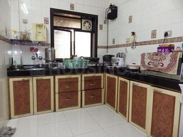 Kitchen Image of 770 Sq.ft 2 BHK Apartment for rent in Thane West for 17000