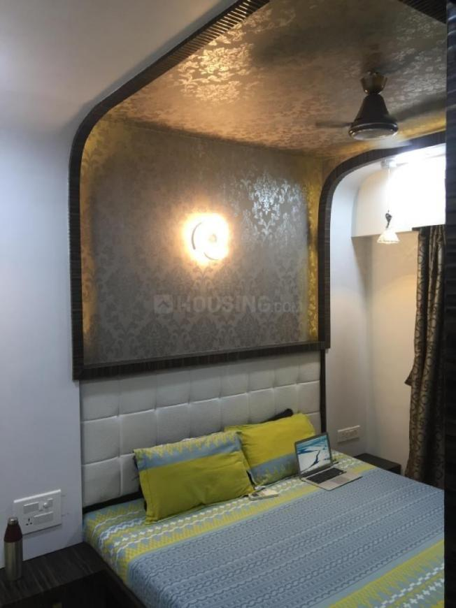 Bedroom Image of 1200 Sq.ft 2 BHK Apartment for rent in Thane West for 35000