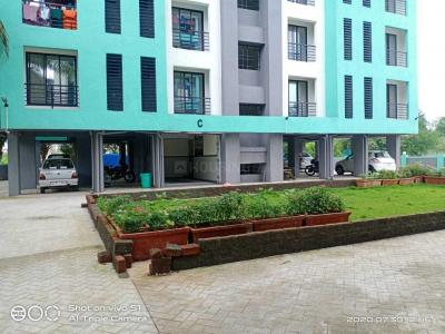 Gallery Cover Image of 630 Sq.ft 1 BHK Apartment for rent in Ram Laxman Sadguru Residency, Shilphata for 7500