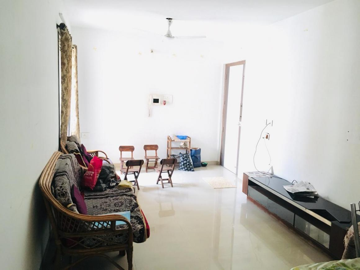 Living Room Image of 600 Sq.ft 1 BHK Apartment for rent in New Panvel East for 10500