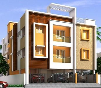 Gallery Cover Image of 1088 Sq.ft 2 BHK Apartment for buy in  South kolathur for 6000000