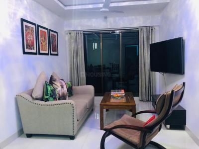 Gallery Cover Image of 650 Sq.ft 1 BHK Apartment for rent in Maryland Residence, Vasai West for 15000