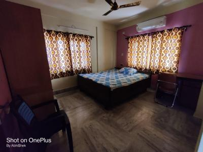 Gallery Cover Image of 1450 Sq.ft 3 BHK Apartment for rent in New Town Society, New Town for 24000