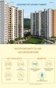 Gallery Cover Image of 973 Sq.ft 1 BHK Apartment for buy in Hinjewadi for 5600000