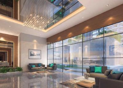 Gallery Cover Image of 850 Sq.ft 2 BHK Apartment for buy in Paranjape Trademark, Thane West for 11900000