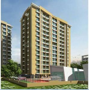 Gallery Cover Image of 655 Sq.ft 1 BHK Apartment for buy in Arkade Art, Mira Road East for 5800000