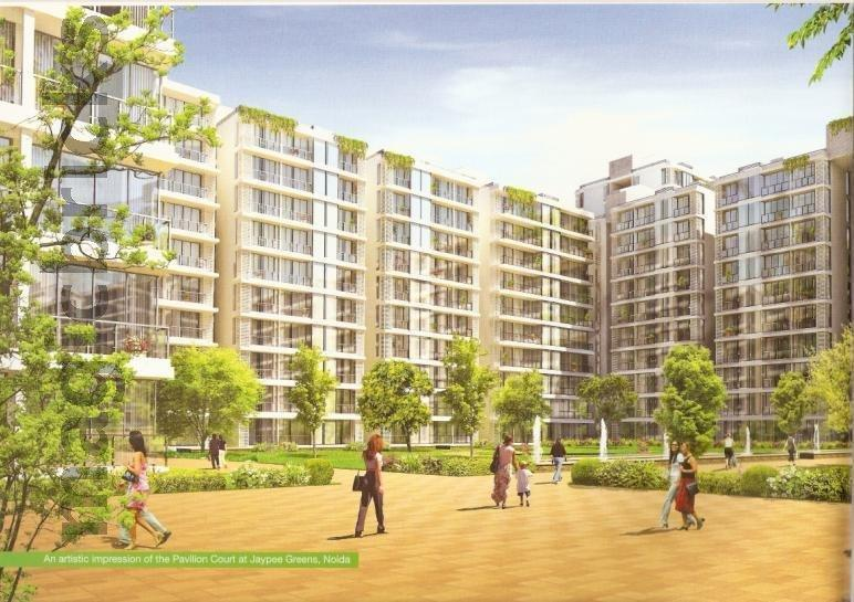 Building Image of 1356 Sq.ft 2 BHK Apartment for buy in Jaypee Pavilion Court Royale, Sector 128 for 6000000