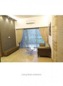 Gallery Cover Image of 1098 Sq.ft 3 BHK Apartment for rent in T Bhimjyani The Verraton, Thane West for 34000