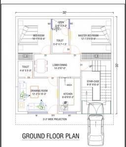Gallery Cover Image of 1800 Sq.ft 3 BHK Villa for buy in  Villas, Noida Extension for 5100000