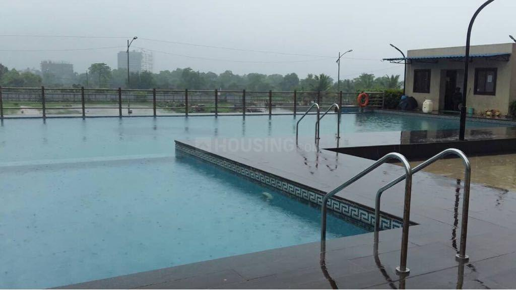 Swimming Pool Image of 950 Sq.ft 1 BHK Apartment for rent in Kalyan West for 8500