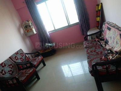 Gallery Cover Image of 650 Sq.ft 1 BHK Apartment for rent in Haware Estate, Kasarvadavali, Thane West for 16000