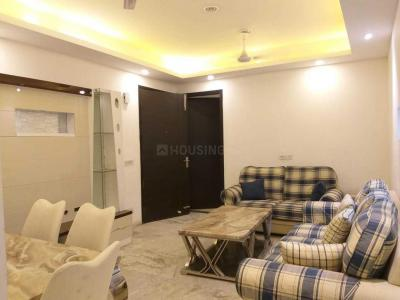 Gallery Cover Image of 1450 Sq.ft 3 BHK Independent Floor for rent in Vasant Kunj for 50000