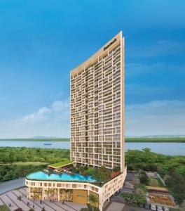 Gallery Cover Image of 1680 Sq.ft 3 BHK Apartment for buy in Signia Oceans, Airoli for 23100000