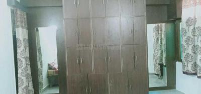 लाजपत नगर में वेदा गर्ल्स पीजी में बेडरूम की तस्वीर