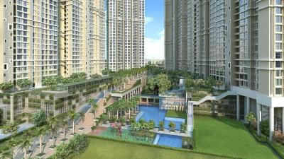 Gallery Cover Image of 1255 Sq.ft 3 BHK Apartment for buy in Runwal Bliss-Daffodil, Kanjurmarg East for 20500000