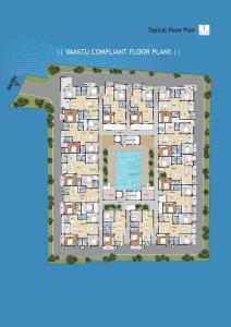 वंशिका स्वेवेन, कोननकुंते  में 5600000  खरीदें  के लिए 5600000 Sq.ft 2 BHK अपार्टमेंट के फ्लोर प्लान  की तस्वीर