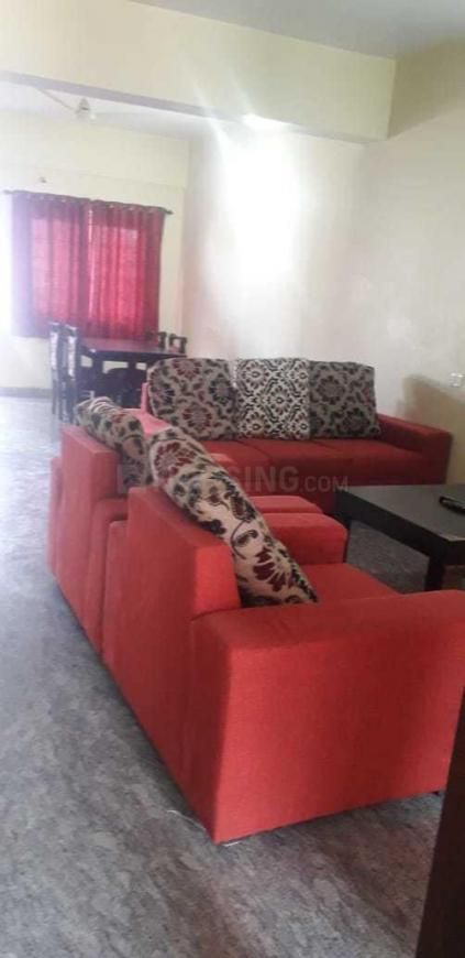 Living Room Image of 1100 Sq.ft 2 BHK Independent House for rent in Hebbal Kempapura for 25000