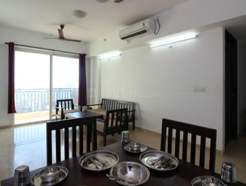 Living Room Image of 1500 Sq.ft 3 BHK Apartment for rent in Borivali West for 60000