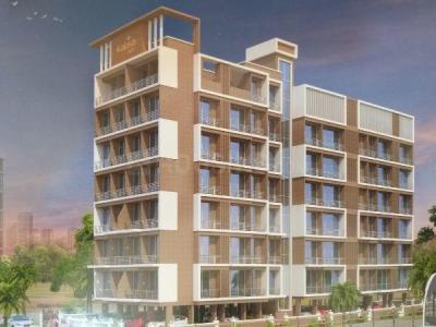 Gallery Cover Image of 615 Sq.ft 1 BHK Apartment for buy in Satpanth Kalash Hills, Karanjade for 3800000