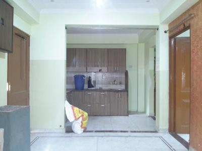 Gallery Cover Image of 540 Sq.ft 1 BHK Independent Floor for rent in Dwarka Mor for 7500