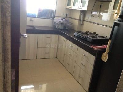 सायन में रमेश पीजी में किचन की तस्वीर